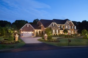 subtle privacy features in front yard landscape design