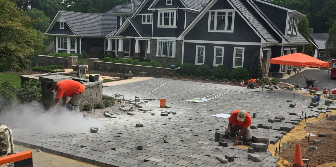 driveway construction in Oakton VA