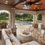 outdoor living room pool pavilion-leesburg va