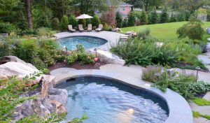 spa-pool-connected-by-waterfall
