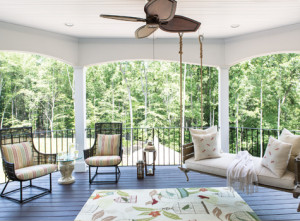 open porch interior by lorna gross