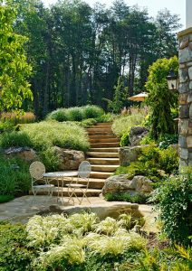 stone staircase path