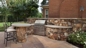 grill station patio