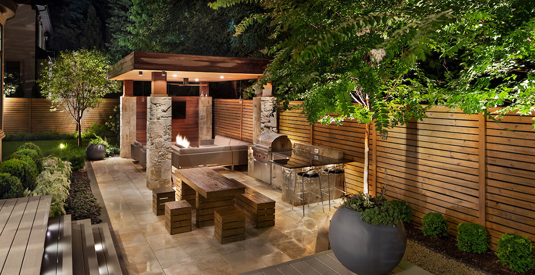 outdoor lighting for pergola