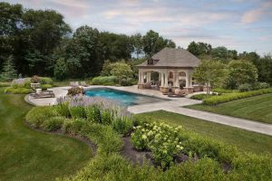 raised-beds-adorn-pool-house