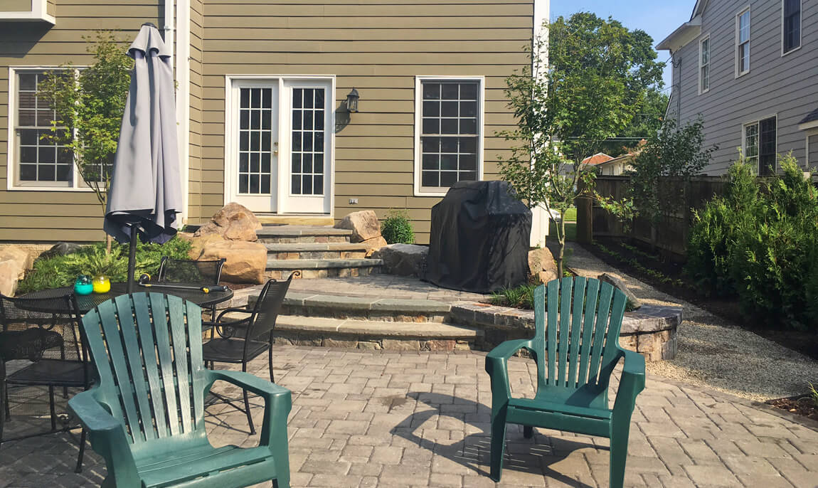 terrace patio and dining patio