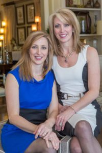 Lori DuVal and Julie Hoffmann of L&L Interiors