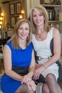 Lori DuVal and Julie Hoffmann of L&L Interiors