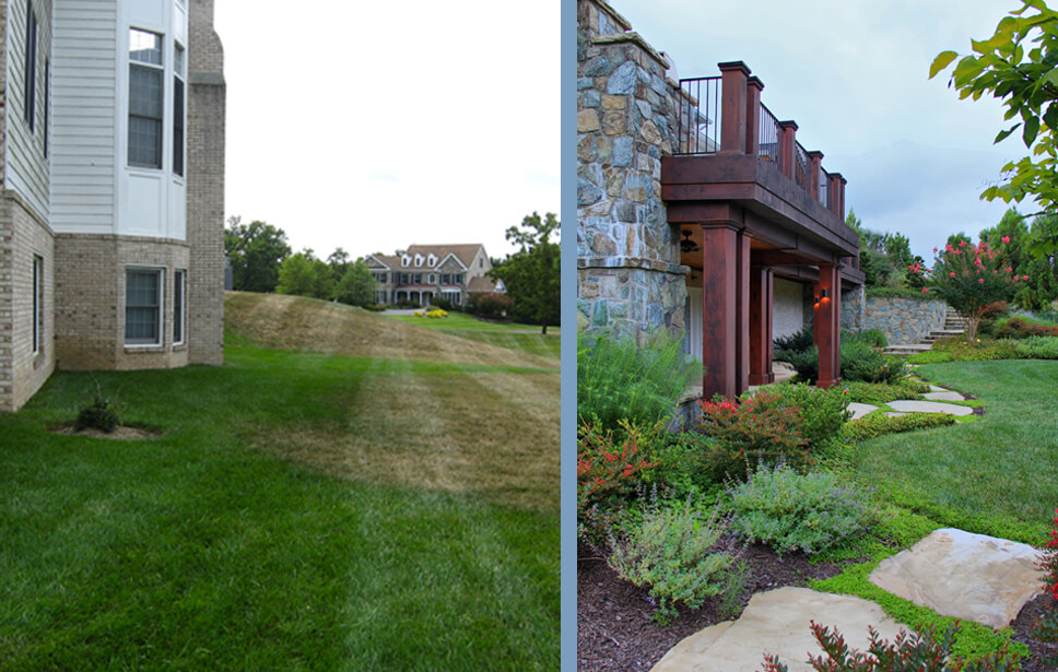 potomac landscape before-after