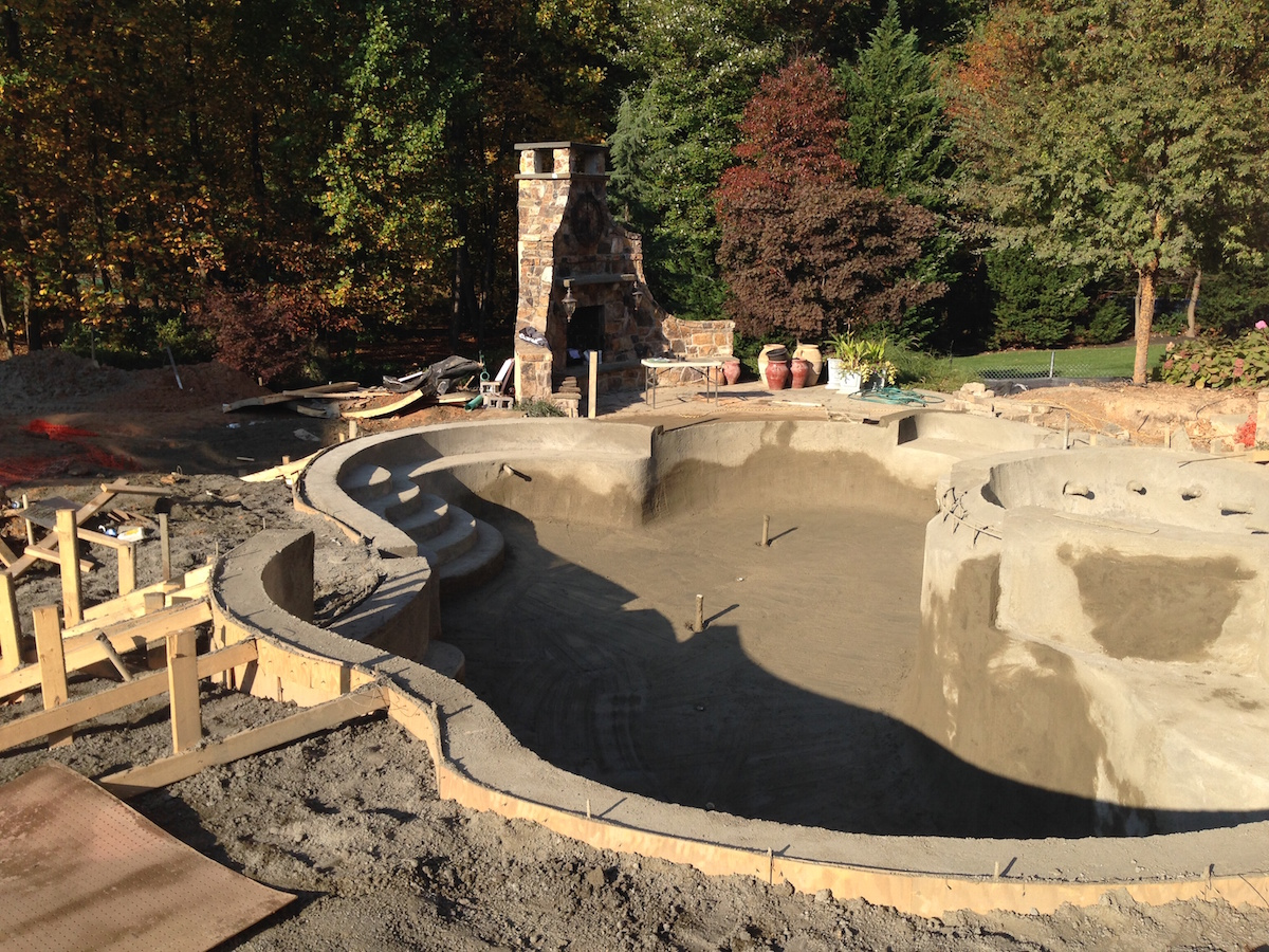 A Right Sized Swimming Pool Design In Herndon Virginia Surrounds Landscape Architecture