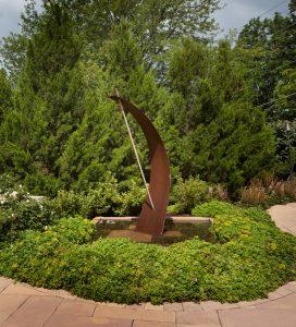 Patio fountain for mclean landscape design