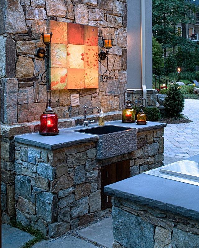 100 Outdoor Kitchen Design Ideas Photos Features: Photo Gallery Of Outdoor Kitchens, Fireplaces & Fire Pits