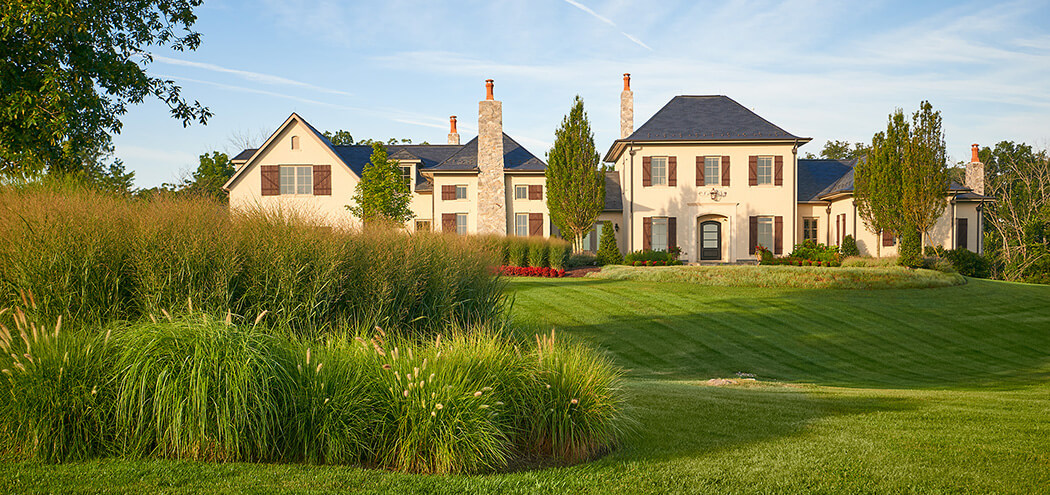 lawn care - large front lawn