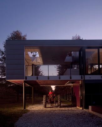 McInturff Drive Through Home Design