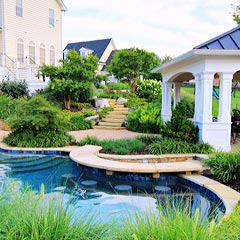 Swimming Pool Landscape Design project