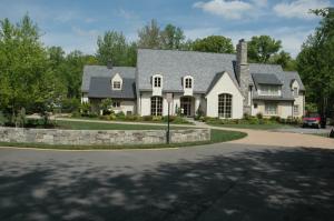 front of home before landscape design