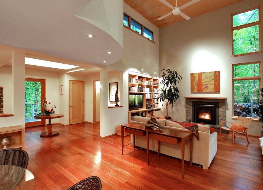 interior architecture reacts to landscape architecture