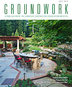 Surrounds Landscaping article in Groundworks Magazine July 2012