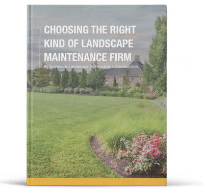 how to choose the right kind of landscape maintenance firm
