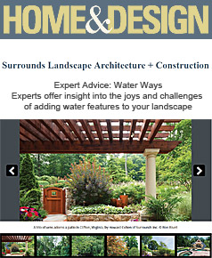 Water Ways, Surrounds Landscaping in Home & Design August 2016