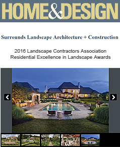 Surrounds Landscaping in Home & Design February  2017
