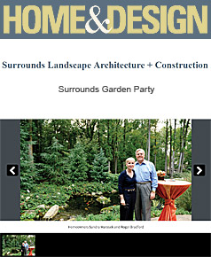 Surrounds Landscaping in Home & Design January 2015