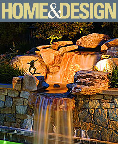 Surrounds Landscaping feature in Home & Design Magazine