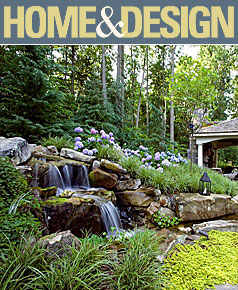 Surrounds Featured in Home & Design Magazine