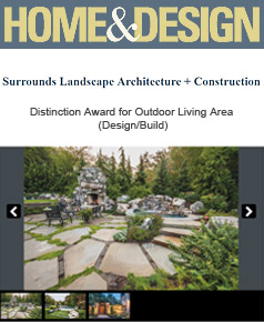 Surrounds Landscaping in Home & Design March 2015