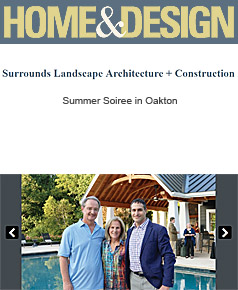 Surrounds Landscaping in Home & Design October 2017