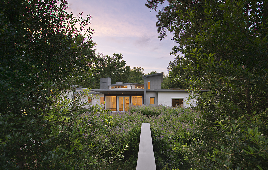 site specific landscape design by graham landscape architects. Photo: Allen Russ