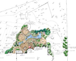 landscape design plan oak ton va