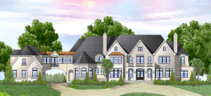 architecture and landscape color rendering