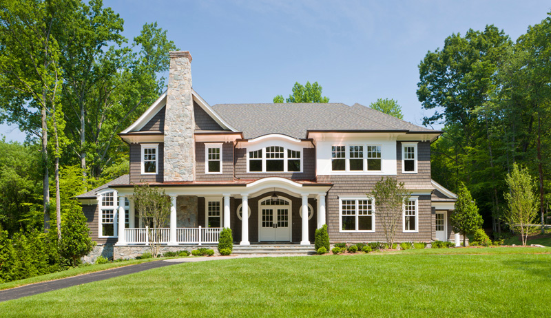 Great falls virginia landscape architecture residential for Nantucket style homes