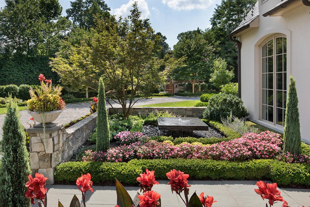 McLean-estate-front-door-garden