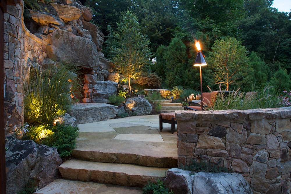 N-outdoor-fireplace-boulders-flagstone-living-terrace