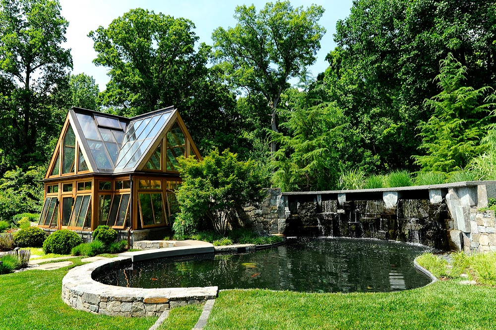 Photo gallery of swimming pools ponds fountains for Koi pond zoning