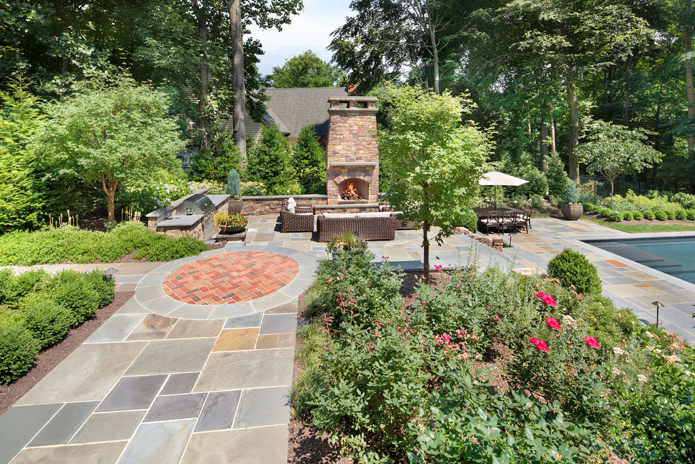 Parkview Hills backyard landscaping