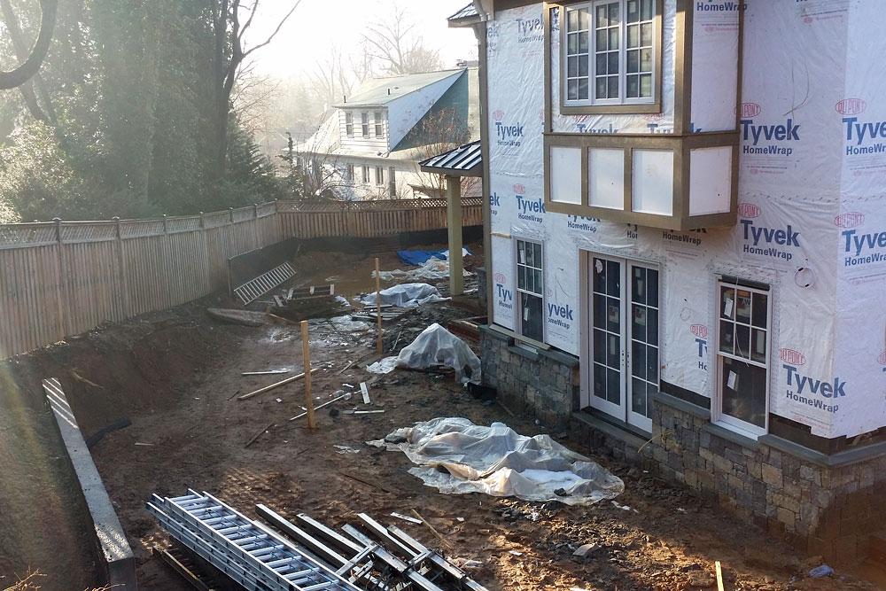 Bethesda Residence construction