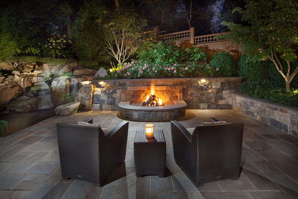 Bethesda Residence fire pit