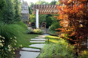 Flagstone Steppers and Trellis