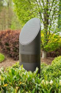 outdoor speaker-above grade