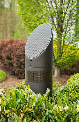outdoor speaker-above grade