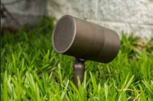outdoor audio-bullet speaker