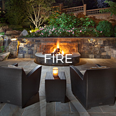 Gallery of Outdoor Fireplaces and Fire Pits