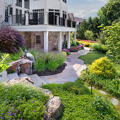 Architectural Landscape Design - Meyer Woods Fairfax VA