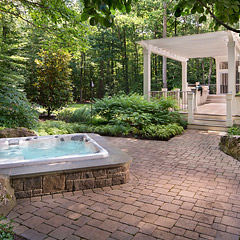 Landscape Design project in Poburn Woods, Fairfax VA