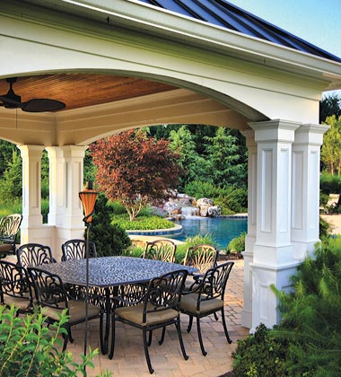 McLean & Great Falls Pergola, Porch & Pool House Design ...