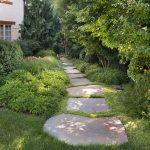 slab stone garden path