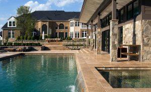 ultra modern style inground pool